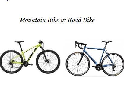Mountain Bike vs Road Bike